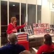 Mildred Speiser presenting