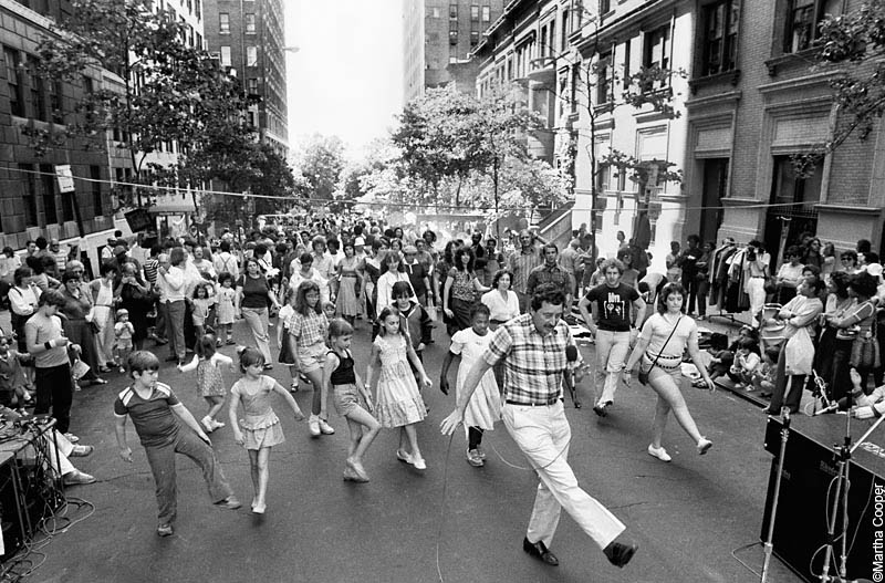 80's of a 103rd St. Block Party